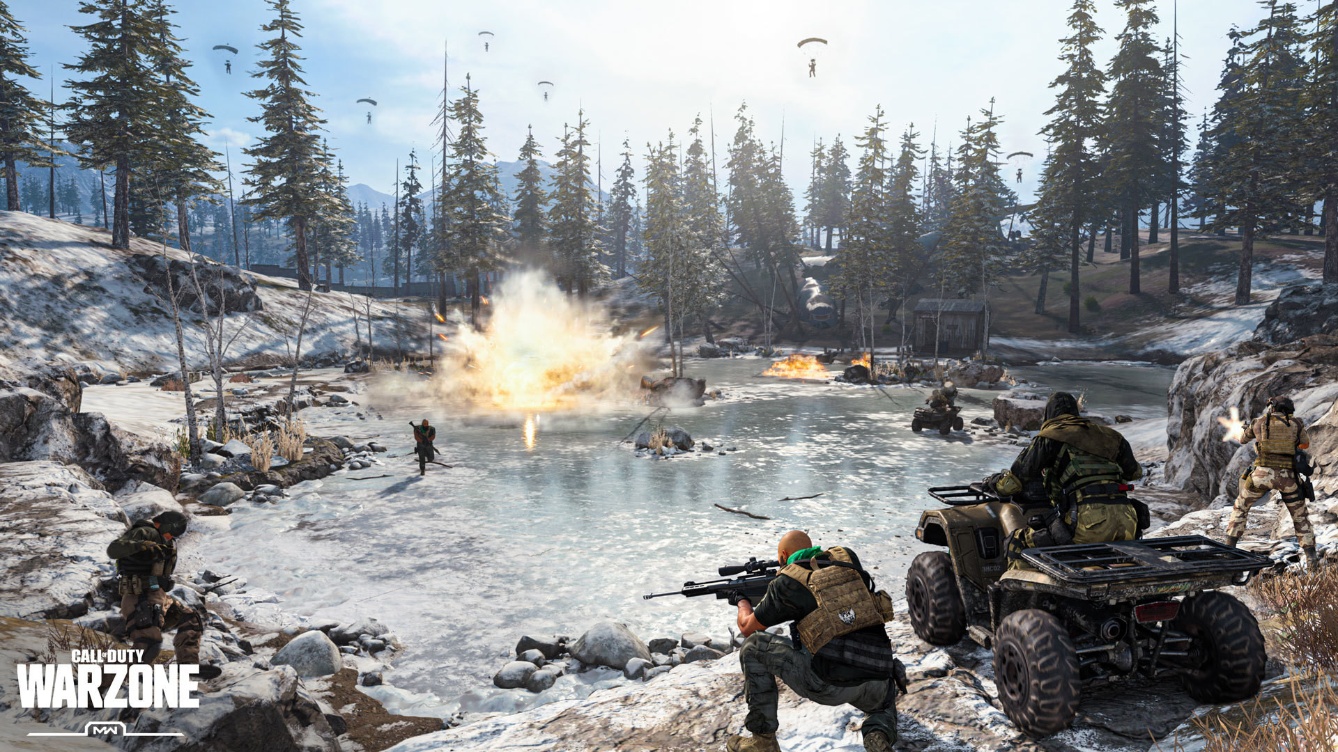 Call of Duty: Warzone gameplay